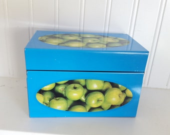 Recipe Box with Green Apples Syndicate MFG. Co.