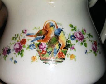 Homer Laughlin  Bluebird Creamer
