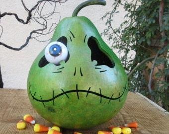 Halloween Gourd Troll Jack O Lantern Primitive Pumpkin Decoration