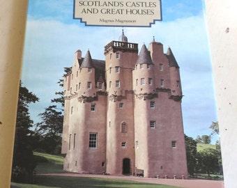 SALE Vintage 1981 Edition Scotland's Castles and Great Houses Book