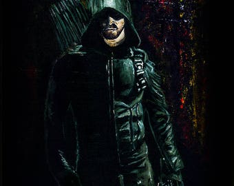 Arrow Limited Edition Art Print