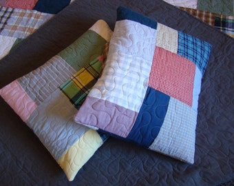 Custom T-shirt Quilt - Pillow Sham - No Money Down
