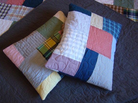 Custom T-shirt Quilt - Pillow Sham - No Money Down