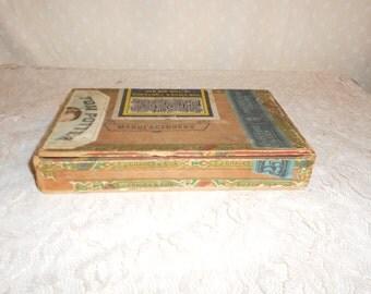 Cigar Box FJG and Sons wood box