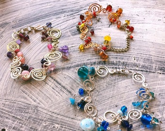 Charms of Beads Bracelets