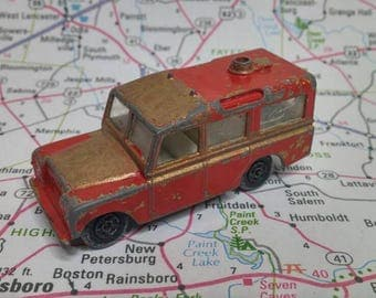 Vintage Matchbox Series No 12 Land Rover Safari 1960s