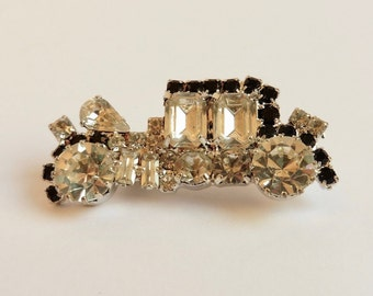 1980s diamanté vintage 1920s-30s car brooch