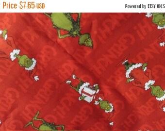 De Seuss Xmas Fabric -- Last Piece -- 40-70% off Listings throughout our Shop