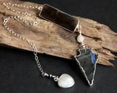 Labradorite Pendulum. Smoky Quartz Pendulum. Moonstone Pendulum. Sterling Silver Pendulum. Divination Pendulum. New Age Pendu