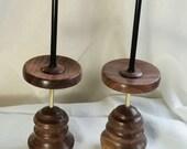 Twin Walnut spindolyns