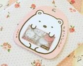SHIROKUMA White Bear Sumikkogurashi Sticker Flakes