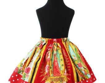 Girl's Virgin Mary Skirt