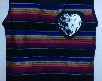 Sarape Corazon de Nopal 4t 5t shirt