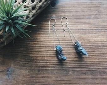 Petite Drusy Amethyst Quartz Earrings Drusy Sterling Silver Pendulum Crystal Earrings Geode Gemstone Bridal Earrings Sparkly Drusy Jewelry
