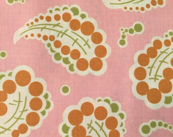 Freshcut by Heather Bailey for Free Spirit ~ 100% Cotton BTY ~ Dotted Paisley PWHB024 - Peach