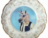 "SALE - Damaged - Missy Van Horne Portrait Plate 10"""