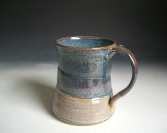Hand thrown stoneware pottery beer mug   (BM-1)