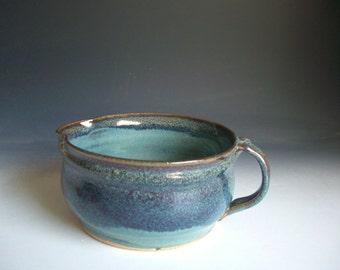 Hand thrown stoneware pottery small mixing bowl  (SMB-3)
