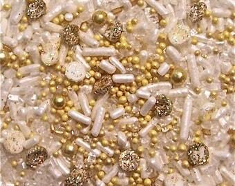 Edible Sprinkles, Goldfinger,Custom Colors,Cookie, Cakepop Cupcake Confetti Decorations