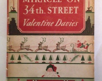 Miracle on 34th Street fiest edition 1947 hardcover with jacket