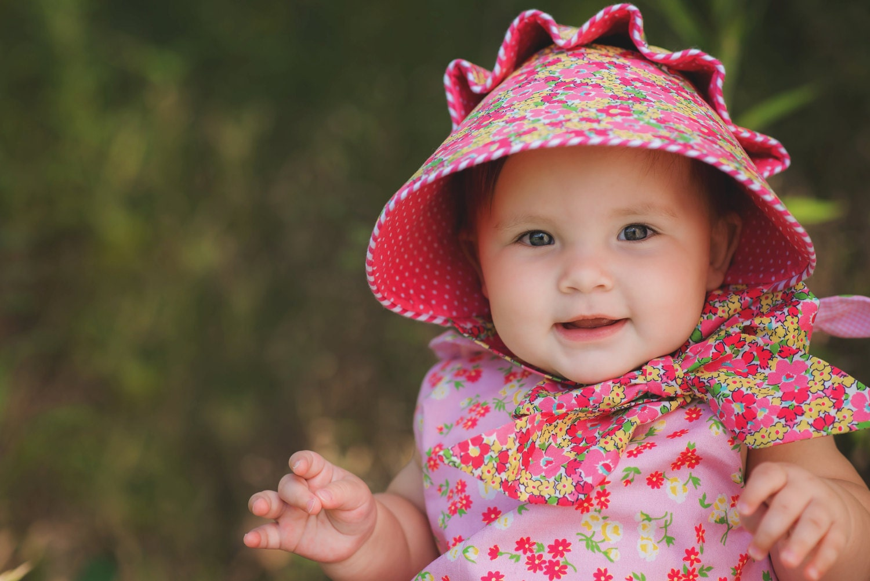Pdf Josie Mae Bonnet Baby Girl Button Bonnet Pattern