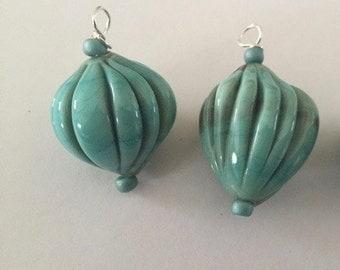 PODS - 1 Handmade Lampwork Glass Bead