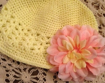 Little Girls Crochet Hat