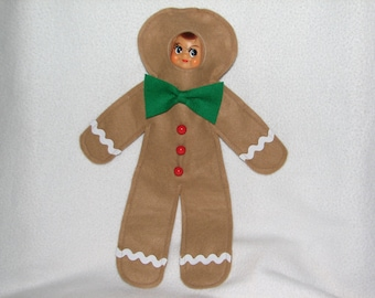 Elf Costume - Gingerbread Boy - Gingerbread Man RTG
