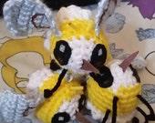 Amigurumi Cutiefly from Pokemon sun and moon