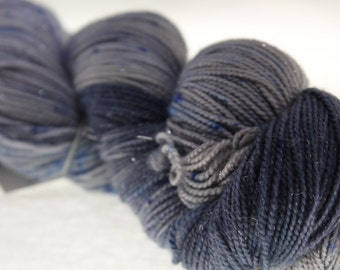 MADE to ORDER Choose Your Weight Hand Dyed Yarn - Gray Matter