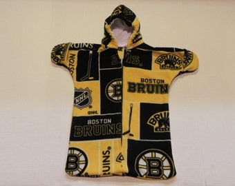 NHL BOSTON BRUINS  Printed  fleece  Baby Bunting Coat Newborn  0 to 6 months