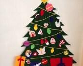 Custom listing for Libi - 5 foot Felt Christmas Tree