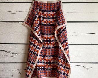 Vintage 1970s YSL silk scarf • vintage silk scarf • 80s scarf