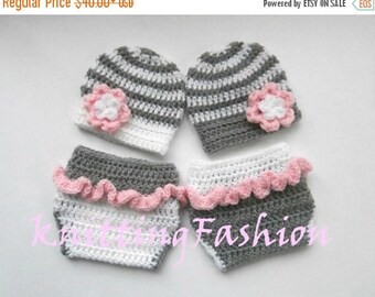 SALE 30% ON SALE Newborn Twin Outfits _NewBorn Baby Girl Twins Outfits _  Baby Twins Hospital Outfits_ Photography Props_Baby Coming Home Ou