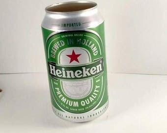 Heineken Beer, Beer Can Candle, Custom Soy Candle, Custom Candle Scent, Man Cave Candle, Craft Beer Gift