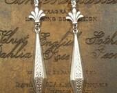 Phryne Fisher Earrings - Silver Art Deco Earrings - 1920s Jewelry - Downton Abbey Jewelry - Art Nouveau Jewelry - Womens Jewelry