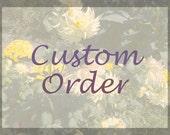 Custom Listing, Home Portrait, Gift Idea, Reserved