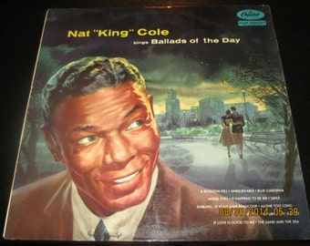 Nat King Cole VG++ vinyl - Sings ballads or the day - Original Edition 1956 - lps in NM- Condition