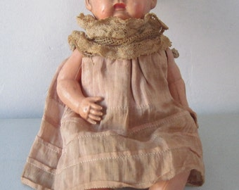 Antique vintage celluloid Doll baby doll made in US