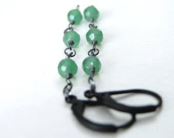 Jewelry, Drop Gemstone Earrings, Dangle Earrings, Rock Crystal, Autumn Accessories, Gift Box