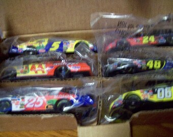 Kelloggs Hotwheels Promotional Set of 6 Cars #5, #44, #25, #24, #48, and #6 Original Packaging Sealed