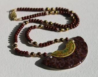 Egyptian Bib Focal Necklace