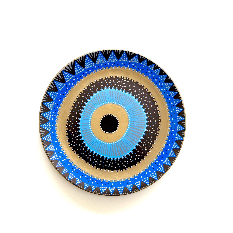 Evil Eye Decor Decorative Plate Bohemian Evil Eye Boho