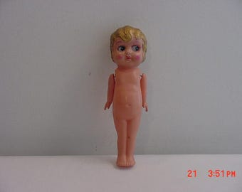 Vintage Occupied Japan Celluloid Carnival Prize Doll  17 - 513