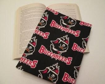 Tampa Bay Buccaneers paperback book sleeve, book bag, book cover, book protector