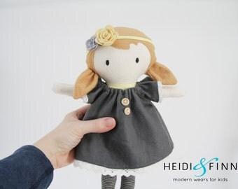 NEW Mini Pals soft rag doll keepsake gift OOAK ready to ship