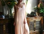 Pink Satin Nightgown Sleepwear Satin Lingerie Pink Gown Custom Sarafina Dreams Bridal Honeymoon Cruise Holiday 2017 Collection