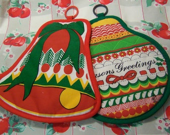 adorable holiday hot pads