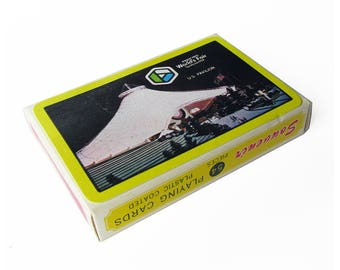 Expo 1974 Playing Cards - Spokane, WA Worlds Fair Souvenir Playing Cards - Sealed, Never Played With - New in Box