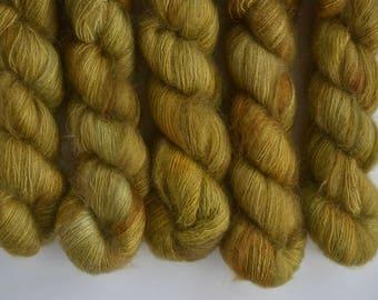 Golden Oak - mohair lace